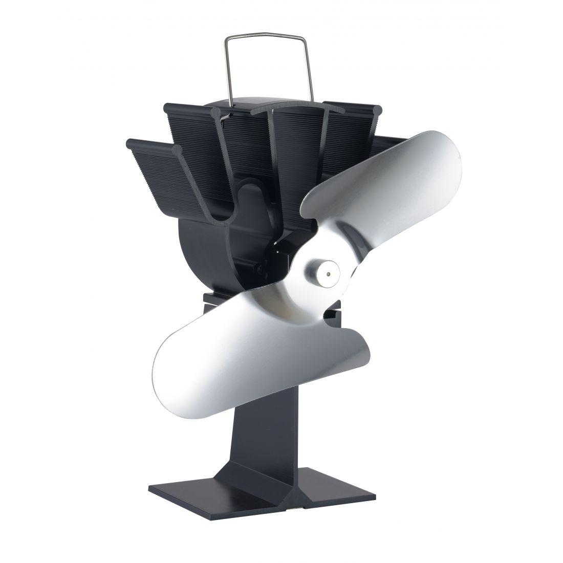ventilateur sans lectricit pour po le bois lienbacher accesso. Black Bedroom Furniture Sets. Home Design Ideas