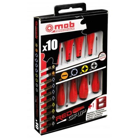 Coffret 10 tournevis MOB