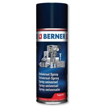 Spray aérosol dégrippant universel Super 6 BERNER